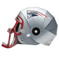 Silver Helmet Fan Head