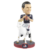 Tom Brady 6X Champs GOAT Player Bobble