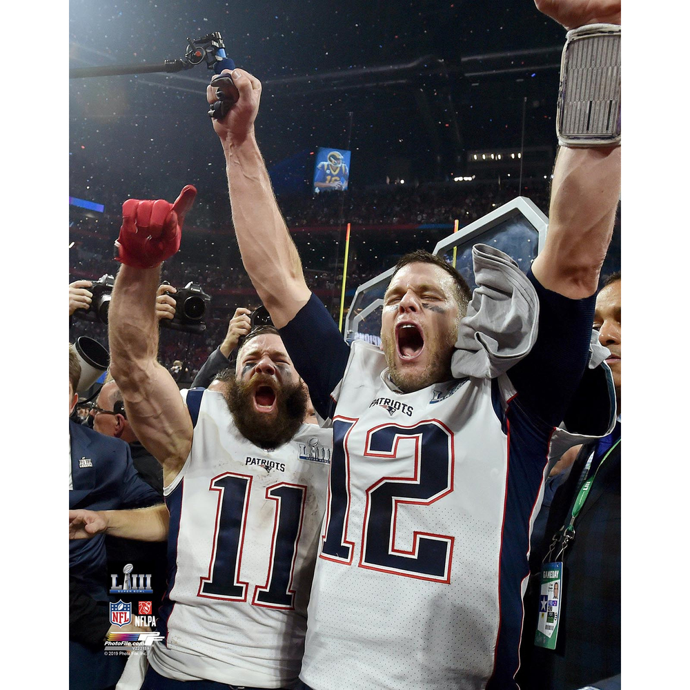 Brady/Edelman Celebration 8x10 Carded Photo