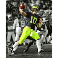 Tom Brady Michigan 8x10 Carded Photo