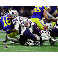 Dont'a Hightower Sack 8x10 Carded Photo