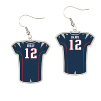 Brady Jersey Earrings