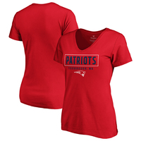 Ladies Dual Tone V-Neck Tee