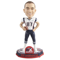Rob Gronkowski 6X Champs Player Bobble