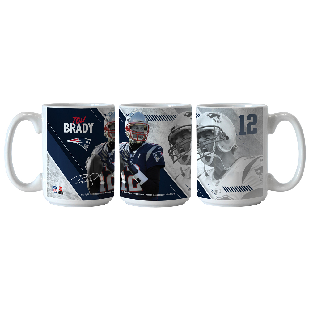 Tom Brady Sublimated Coffee Mug