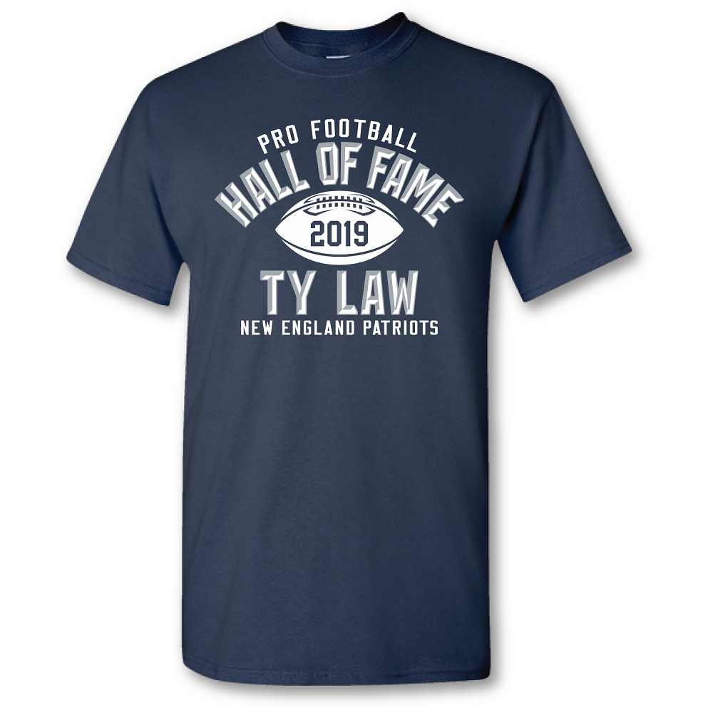 Ty Law Hall of Fame Tee
