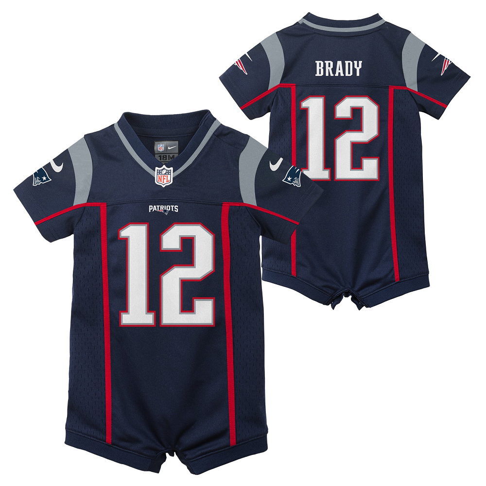 Infant Tom Brady #12 Romper