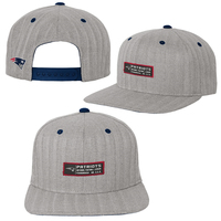 Youth Herringbone Flat Brim Cap