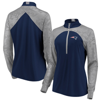 Ladies Fanatics Defend 1/2 Zip Top