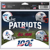 Helmet 100th Multi Use Decal