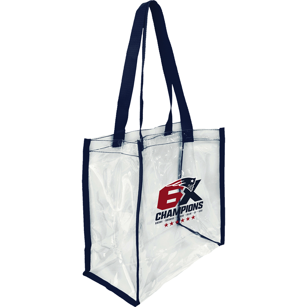 6X Champs Clear Tote Bag