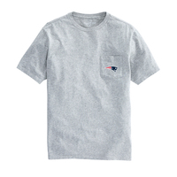 Vineyard Vines Logo Pocket Tee