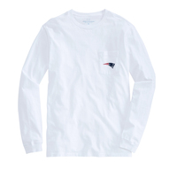 Vineyard Vines Logo Pocket Long Sleeve Tee