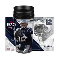Tom Brady Wrap Travel Tumbler