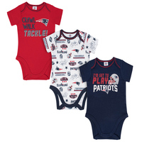 Newborn Little Player Bodysuits 3pk
