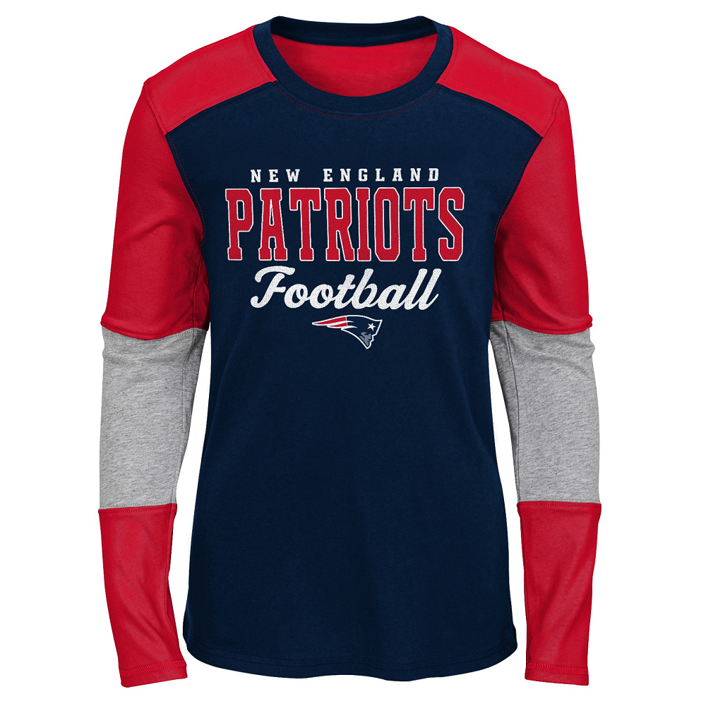 Girls Half Time Long Sleeve Top