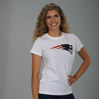 Ladies Nike Dri-Cotton Logo Tee