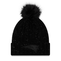 Ladies New Era Fuzzy Pom Knit