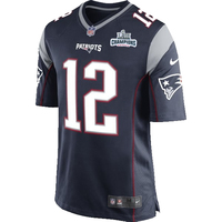 Nike Brady Opening Night Game Jersey-Navy
