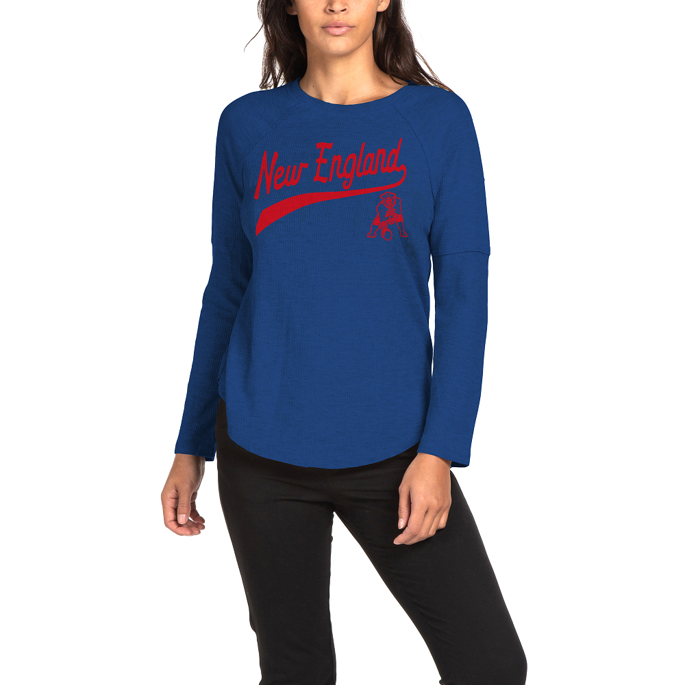 Ladies Junk Food Throwback Liberty Thermal Top
