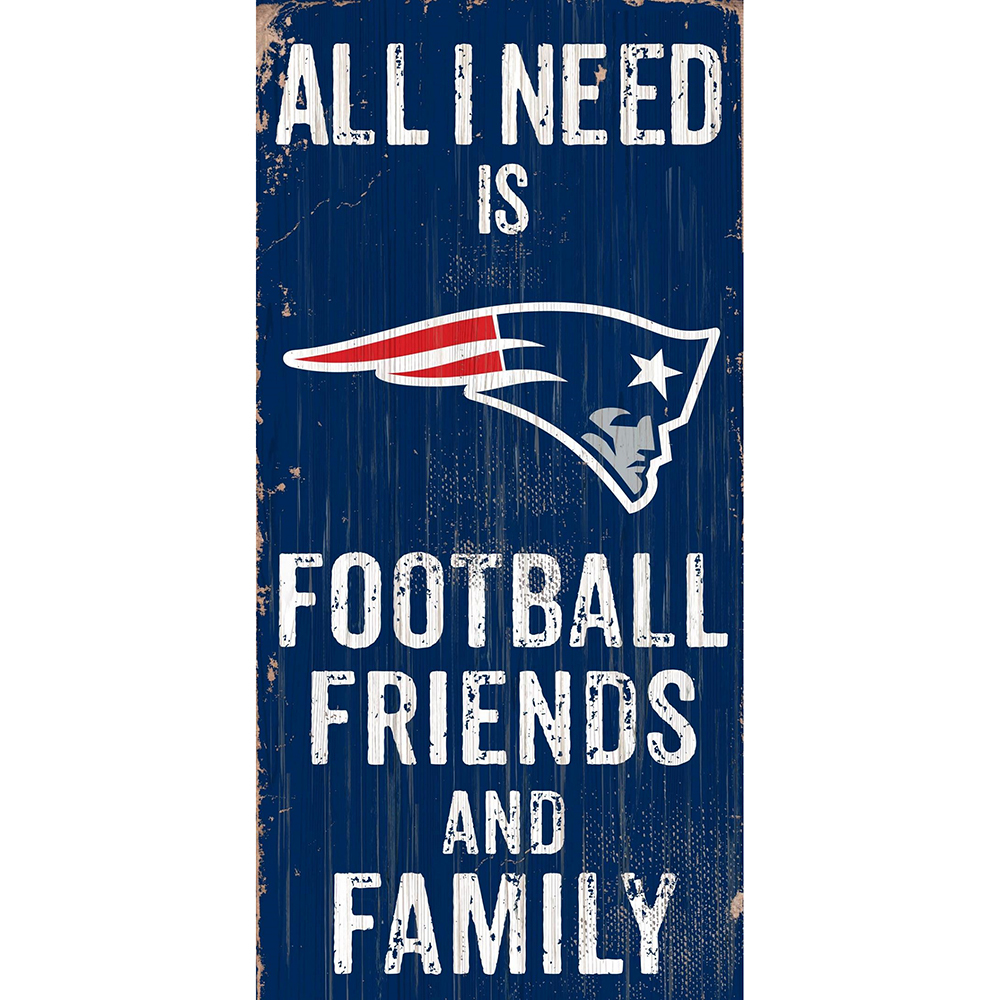 Football, Friends and Family Sign
