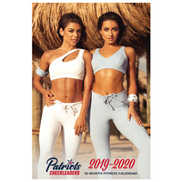 2019-2020 Patriots Cheerleader Fitness Calendar