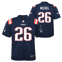 Youth Nike Sony Michel Color Rush Jersey-Navy