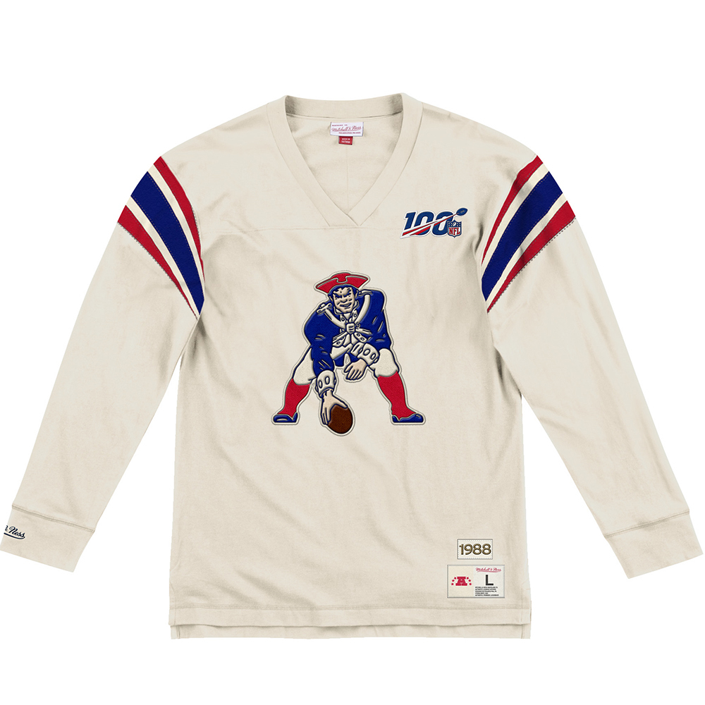 Mitchell + Ness Throwback Inspired Long Sleeve Top
