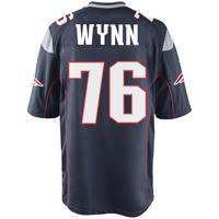 Nike Isaiah Wynn #76 Game Jersey-Navy
