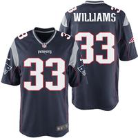 Williams33nikegamejerseynavy