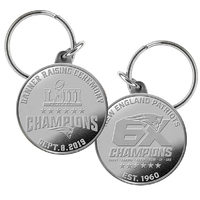 6X Champs/Banner Ceremony Silver Coin Key Chain