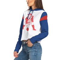 Ladies Junk Food Throwback Liberty Crop Hood