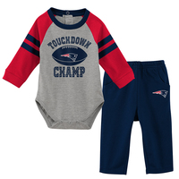 Infant Touchdown Long Sleeve Creeper and Pants