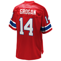 Steve Grogan #14 Throwback Replica Jersey