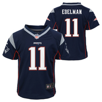 Toddler Nike Julian Edelman Jersey-Navy