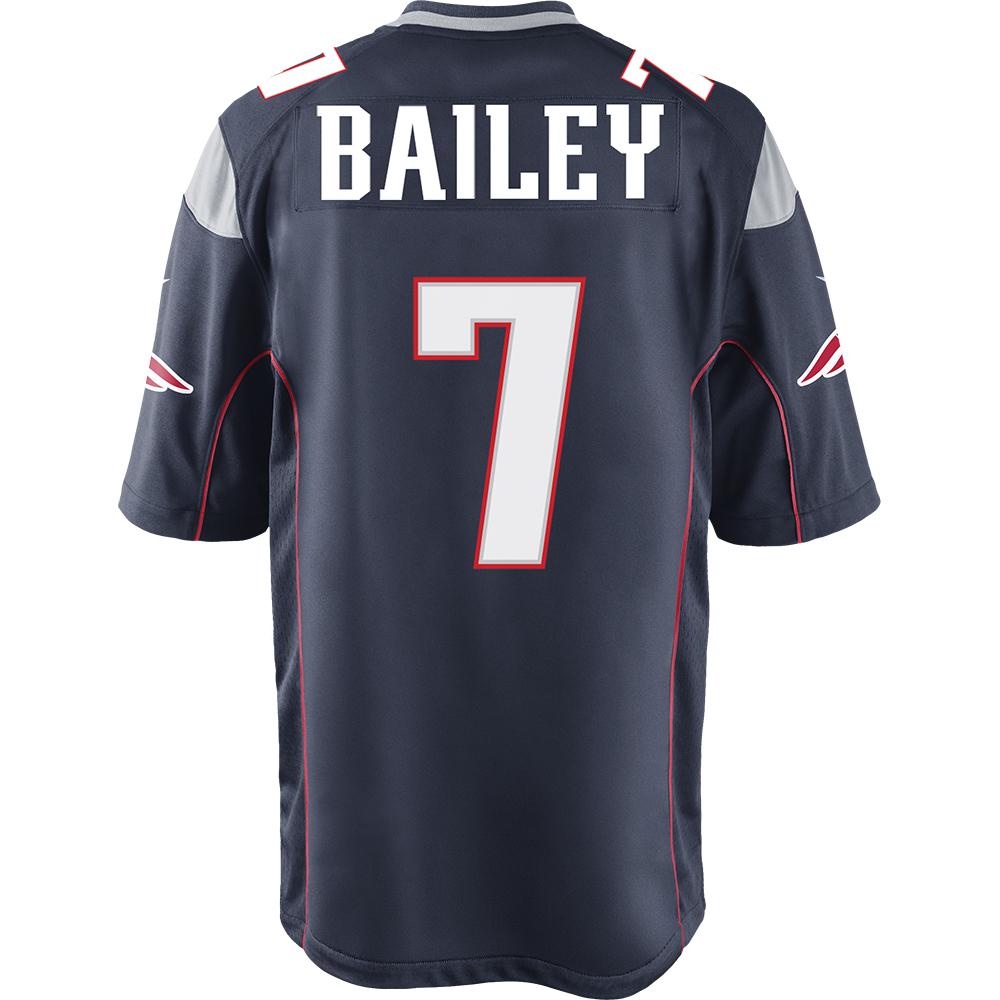 Baileynikegamejerseynavyback