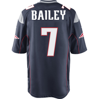 Nike Jake Bailey #7 Game Jersey-Navy