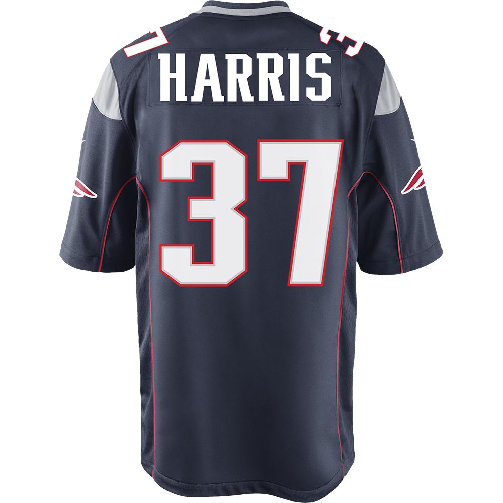 Harris37nikegamejerseynavyback