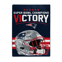 Super Bowl LIII Victory Raschel Blanket