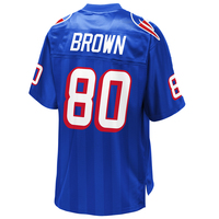 Troy Brown Royal Replica Jersey