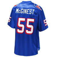 Willie McGinest Royal Replica Jersey
