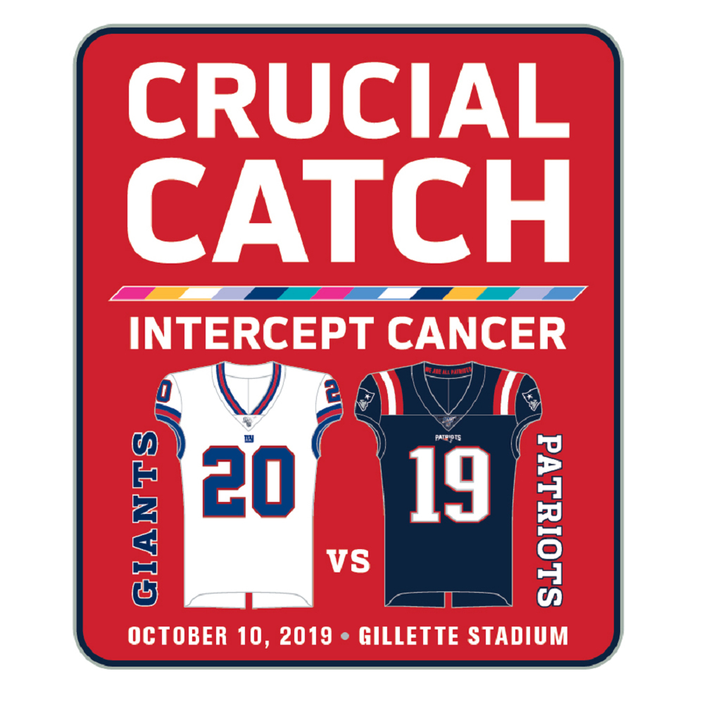 Patriots/Giants Game Day Pin