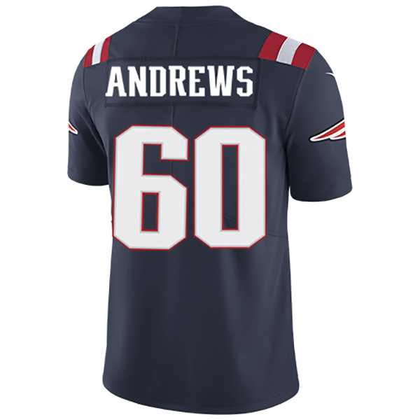 Nike David Andrews #60 Color Rush Limited Jersey-Navy