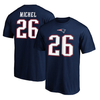 Sony Michel Name and Number Tee