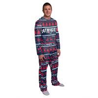 Crew Neck Pajama Set