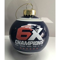 6X Champs Exclusive Round Ornament