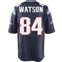 Nike Ben Watson #84Game Jersey-Navy