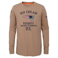Youth Nike Salute To Service Long Sleeve Tee