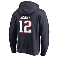 Tom Brady #12 Name and Number Hood
