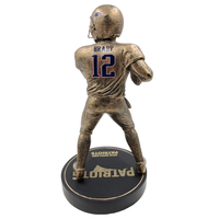 Tom Brady Bronze Figurine